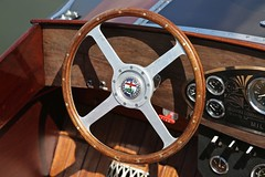 Steering Wheel 1997 Hacker Gentleman's Racer Contessa (Bill Jacomet) Tags: steering wheel 1997 97 hacker gentlemans racer contessa keels and wheels concours delegance lakewood yacht club seabrook tx texas 2018