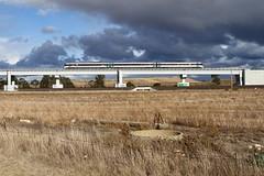 Manor Overpass (Aussie foamer) Tags: 1136 vlocity1136 vlocity vl36 bombardier railcar vlinepassenger vline passengertrain manor victoria train railway