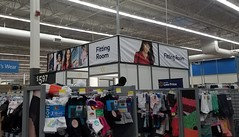 New Fitting Rooms Signage and Units (Retail Retell) Tags: olive branch ms walmart goodman road i22 hwy 78 craft desoto county retail project impact remodel classic decor remnants black 20 22 exterior repaint