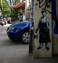 HH-Wheatpaste 3719 (cmdpirx) Tags: hamburg germany reclaim your city urban street art streetart artist kuenstler graffiti aerosol spray can paint piece painting drawing colour color farbe spraydose dose marker stift kreide chalk stencil schablone wall wand nikon d7100 paper pappe paste up pastup pastie wheatepaste wheatpaste pasted glue kleister kleber cement cutout