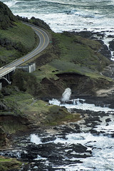 Bend in the road (acase1968) Tags: yachats cape perpetua stone shelter highway 101 spouting horn nikon d500 oregon coast pacific ocean nikkor 70300mm devils churn