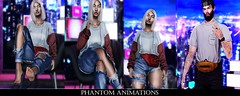 Phantom Animations - Dominique Collection (D. Phantom || Phantom Animations Store Owner) Tags: menonlymonthly animations phantomanimations secondlife poses maleposes bentoposes coupleposes unisexposes femaleposes