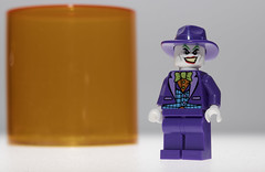 The Joker (N.the.Kudzu) Tags: tabletop lego miniature joker canondslr lensbabyvelvet56 dxoopticspro11 flash