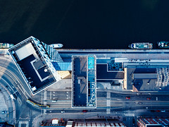 (miemo) Tags: clarion dji mavic mavicpro abstract aerial architecture boat cars city drone europe finland helsinki highrise hotel lanes pool rooftop ship street summer topdown traffic urban uusimaa fi