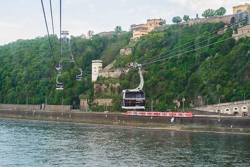 Koblenz. Sesselbahn