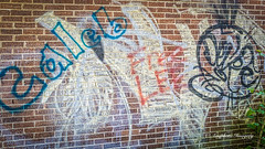 Caleb Strikes (augphoto) Tags: augphotoimagery brick building exterior grafitti structure williamson westvirginia unitedstates