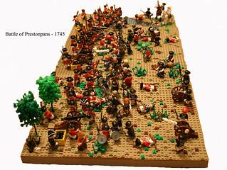 The Battle of Prestonpans - 1745