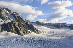Glaciar en el Monte Cook, alpes neozelandeses. (Victoria.....a secas.) Tags: glaciar montecook alpes nuevazelanda islasur