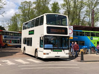 BIG GREEN BUS LR52KWC CAMBRIDGE 250418
