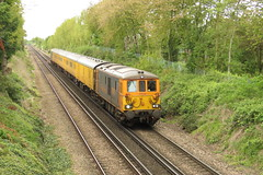 73965 Rainham (localet63) Tags: gbrailfreight class73 1q78 rainham testtrain 73965