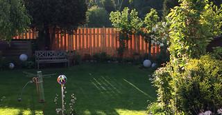 Der leuchtende Zaun / The lucent fence