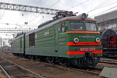 VL10-058 (zauralec) Tags: ржд rzd электровоз локомотив депо курган вл10 volvo vl10 kurgan depot vl10058 058 вл10058