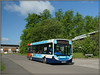 36214, Daneholme Avenue (Jason 87030) Tags: 36214 rugby stagecoach daventry midlands longbuckby d4 e200 blue branding coventry service route daneholmeavenue trees green shot sony ilce alpha a6000 nex lens visitor weather may 2018 kx60lhw