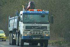 Volvo FM12 Tipper Hemel Grab B19 CUM (SR Photos Torksey) Tags: transport truck haulage hgv lorry lgv logistics road commercial vehicle traffic freight volvo fm12 tipper hemel grab