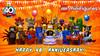 HAPPY 40th ANNIVERSARY LEGO MINIFIGURES (FHD) (COLLECTOR FIGURES) Tags: lego minifigures series18 40years minifigures18 happy anniversary minifigure