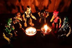 The Gathering: Image 1 (Toa Slim 2014) Tags: lego bionicle tahu lewa pohatu gali onua kopaka toa mata toy toyphotography photography