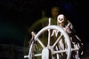 Jolly Roger (Jeremy Caney) Tags: anaheim blurry california dead disneyland ghostship haunting jollyroger navigator nightmares parks pirates piratesofthecaribbean rides ship skulls southerncalifornia spring themeparks travel trips undead vacation weddings wheel skeletons
