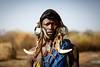 Mursi man (Lil [Kristen Elsby]) Tags: canon5dmarkii ethiopia mursi omovalley tribe mursitribe portrait editorial indigenous tribal topf25