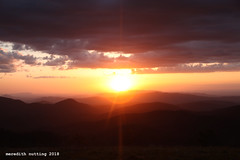 SM_bigsunset (meredith_nutting) Tags: appalachian trail appalachiantrail at hiking nationalparks publiclands maxpatch maxspatch sunset
