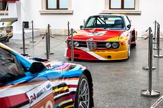 BMW Art Car (m.grabovski) Tags: bmw art car zamek ujazdowski warszawa warsaw polska poland mgrabovski 30 csl alexander calder m3 gt2 jeff koons