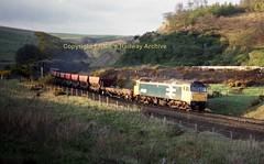 x Penmanshiel 47653 30apr87 a625 (Ernies Railway Archive) Tags: penmanshiel nbr lner scotrail ecml