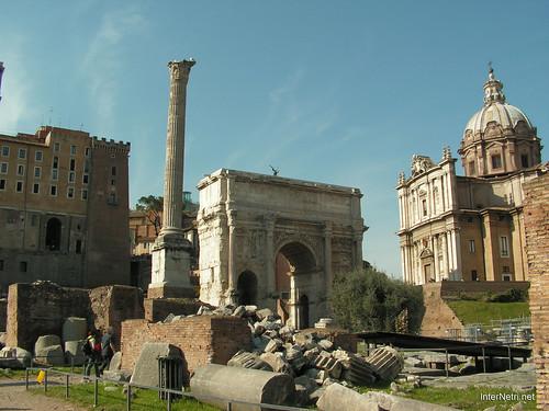 Римський форум, Рим, Італія InterNetri Italy 509