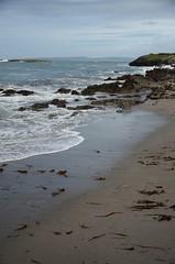 """ I do like to be beside the seaside"" (S Collins 2011) Tags: sky beach ocean water bay rock sand coast wave sea kerry ireland"