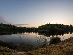 Llyn Elsi Moonset Time Lapse (Rob Pitt) Tags: betwsycoed night photography time lapse video moonset moon landscape cymru wales canon 550d samyang 8mm fisheye llyn elsi
