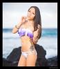 Ryn - Kaiwi (madmarv00) Tags: d600 nikon ryn asian girl hawaii kaiwishoreline kylenishiokacom model oahu outdoor woman portrait bikini ocean rocks water tattoo