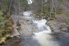 Cascades of Water (steve_whitmarsh) Tags: aberdeenshire scotland scottishhighlands water river waterfall bridge rocks longexposure