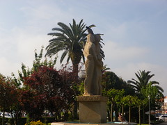Estatua en los Jardines de Valle Inclán en a Pobra do Caramiñal(Coruña-España) (Los colores del Barbanza) Tags: estatua en los jardines de valle inclán pobra do caramiñalcoruñaespaña statue garden