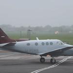 M-POWR Beech King Air C90A Northside Aviation Ltd thumbnail