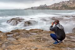 Fotografiando el levante. (angelrm) Tags: melilla filtrond mar pwmelilla