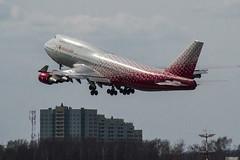 EI-XLH Rossiya - Russian Airlines Boeing 747-446 (natan_ivanov83) Tags: sky airplane vko vnukovo uuww planespotting boeing boeing747