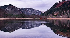 Glendalough Lower Lake Pano (ClassicAngles) Tags: glendalough 50mmprime nikon winter ireland water reflections panorama pano d3400 longexposure manfrotto explore wildlife greystonescameraclub snowcapped forest classicangles wicklow darklightphotography park nikkor landscape lazyshutters lake countywicklow ie