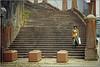 Sydney. (rogilde - roberto la forgia) Tags: sola desolazione abbandono scala scale woman donna orientale discesa linee orrizzontali vision solitudine vivere quotidiano quotidanietà sacchetti spesa rassegnazione