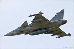 JAS-39C Gripen (Pavel Vanka) Tags: czechairforce denvevzduchuplasy2018 jas39c gripen jas39 jet fighter plasy lkps airshow aircraft fly flying plane airplane dayintheair czechrepublic aeroclub