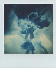 Young meditation (Maija Karisma) Tags: polaroid instant pola littlebitbetterscan polaroidoriginals color600 sx70 roidweek2018 roidweek
