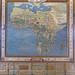 L'Afrique dans la salle de la Mappemonde (Palais Farnese, Caprarola, Italie)