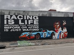 Andrew really liked this one outside Wynwood Walls