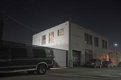 White box building (ADMurr) Tags: la eastside van white box building night m0003627 leica m240 35mm summaron