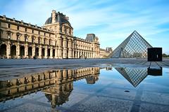 Louvre Museum, Paris (szeke) Tags: louvre paris france museum reflection square architecture