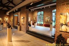 IMG_9423 (Patrick Williot) Tags: exposition vernissage ecuries sculpteur michal peintre genevieve nicolas