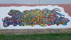 Duel... (colourourcity) Tags: streetart streetartnow streetartaustralia melbourne melbournestreetart melbournegraffiti graffiti graffitimelbourne colourourcity nofilters awesome original duel tmm king