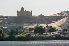 Mausoleum of Aga Khan (RunningRalph) Tags: aswan nijl nile river rivier tomb mausoleum agakhan mausoleumofagakhan eg egypte