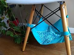 Turquesa (Carol Grilo • FofysFactory®) Tags: fofysfactory catlover gato rede hammock fabric handmade craft carolgrilo cat neko chat felino