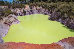 The Devil's Bath, Wai-O-Tapu (Joyce Pinsker) Tags: devilsbath newzealand northisland waiotapu colourful geothermalarea nearrotorua