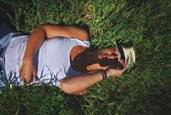 S.P. (Sareni) Tags: sareni serbia srbija baric livada polje poljana field gras trava woman sp light colors svetlost boje shadows senke portrait portret spring prolece twop