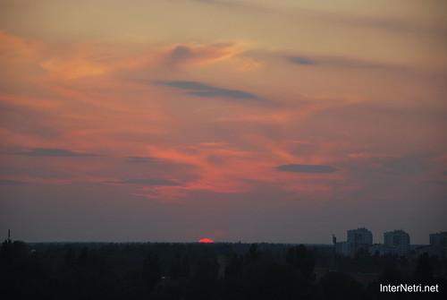 Небо Захід сонця InterNetri Ukraine  10