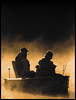 (Cliff Michaels) Tags: nikon photoshop pse9 boat fishermen dawn sepia